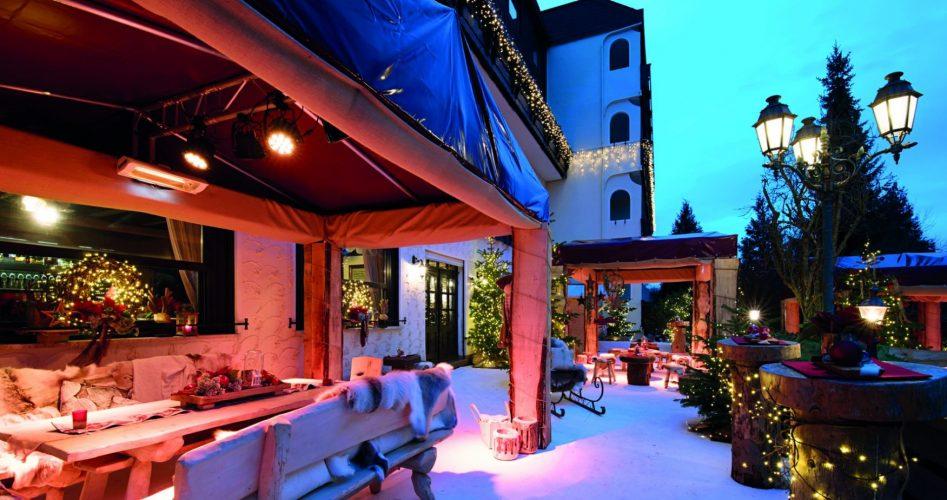 Weihnahctswerlt im weingärtners Victor`s Resdeinz Hotel am Bostalsee: