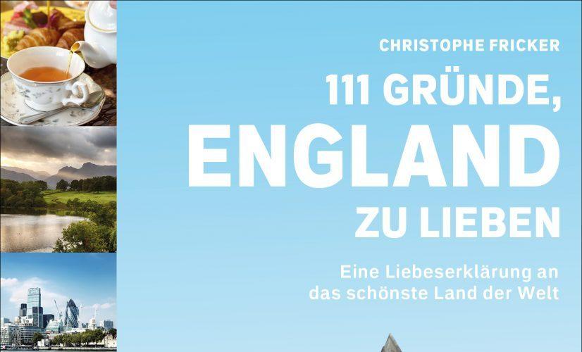 111 GRÜNDE, ENGLAND ZU LIEBEN - Cover - 2D - HiRes