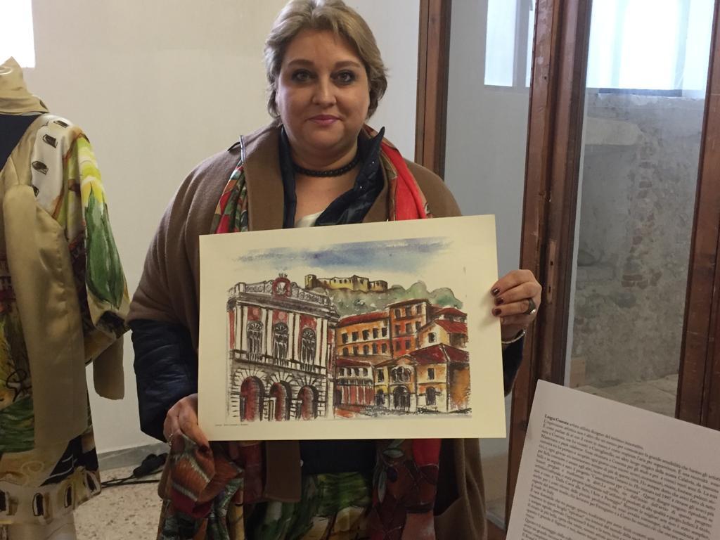 Verliebt in ihr Cosenza: Künstlerin Luigia Granata
