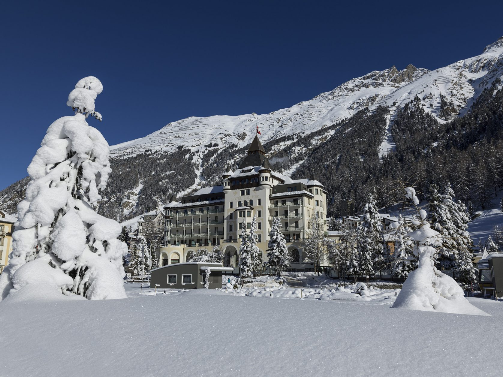 Hotel Walther in Pontresina, Foto: Hotel Walther