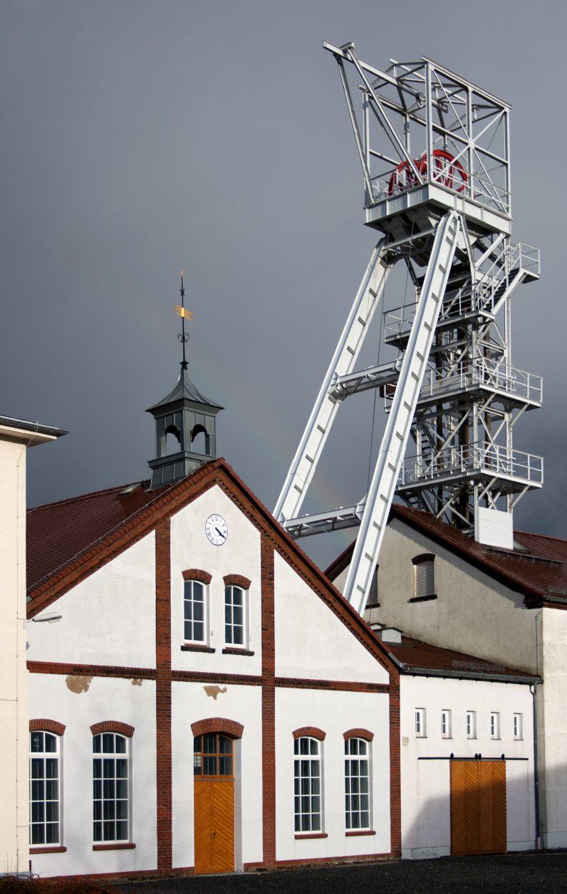 Besucherbergwerk Reiche Zeche in Freiberg Foto: Weirauch