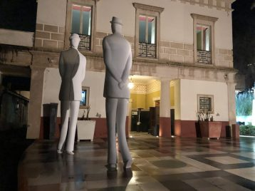 Palazzo Salfi: Kunst vor dem Essen