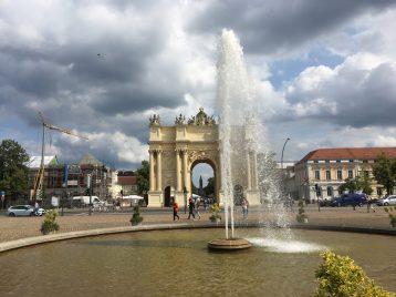 Luisenplatz in Potsdam Foto: Weirauch