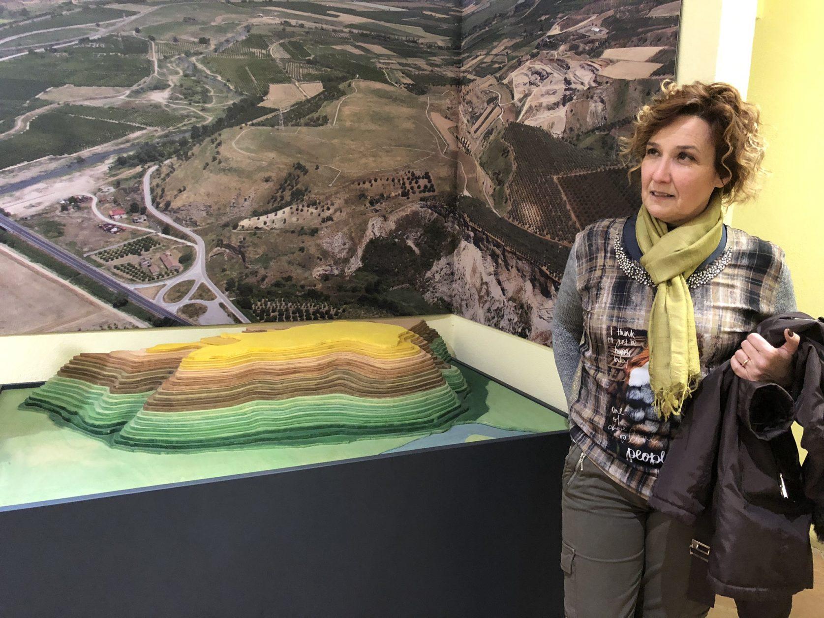 Dr. Maria Cerzoso, Direktorin des Bretti-Museum Consenza