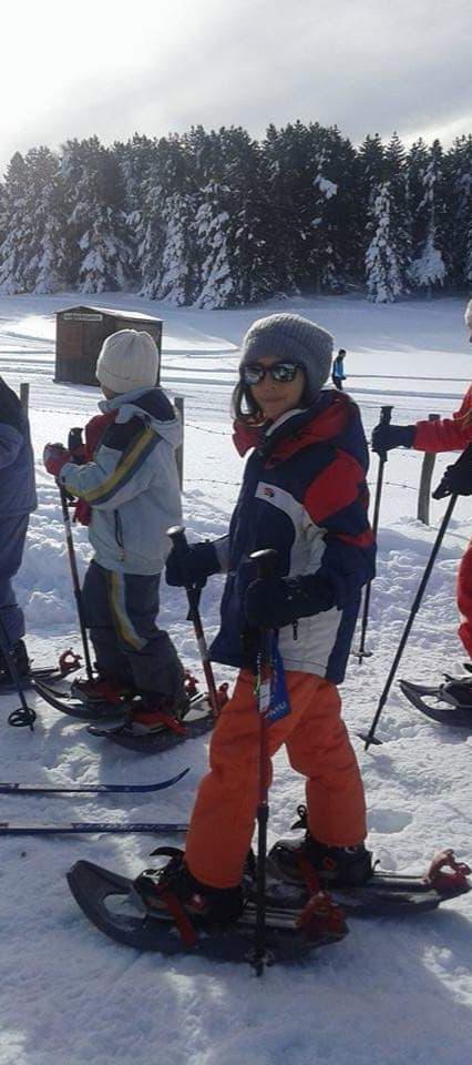 Früh übt sich, wer ein Meister werden will, Skifahren im Sila, Foto: Antonella Prospe