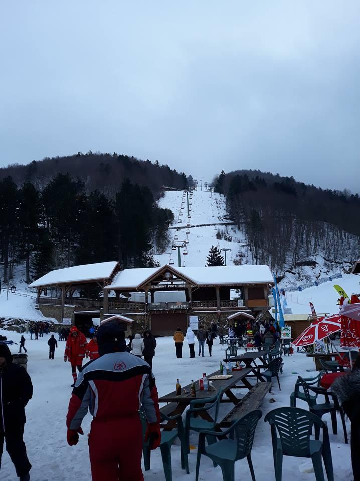 Skilift im Sila Gebirge in Kalabrien, Foto: A.Prosperati