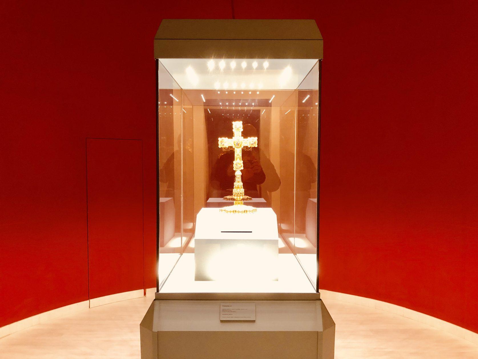 "Reliquario della Vera Croce Detto ""Stauroteca"" im Diözesanmuseum"