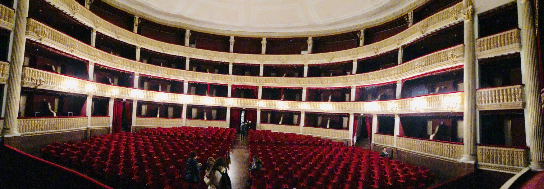 Blick in das Theater