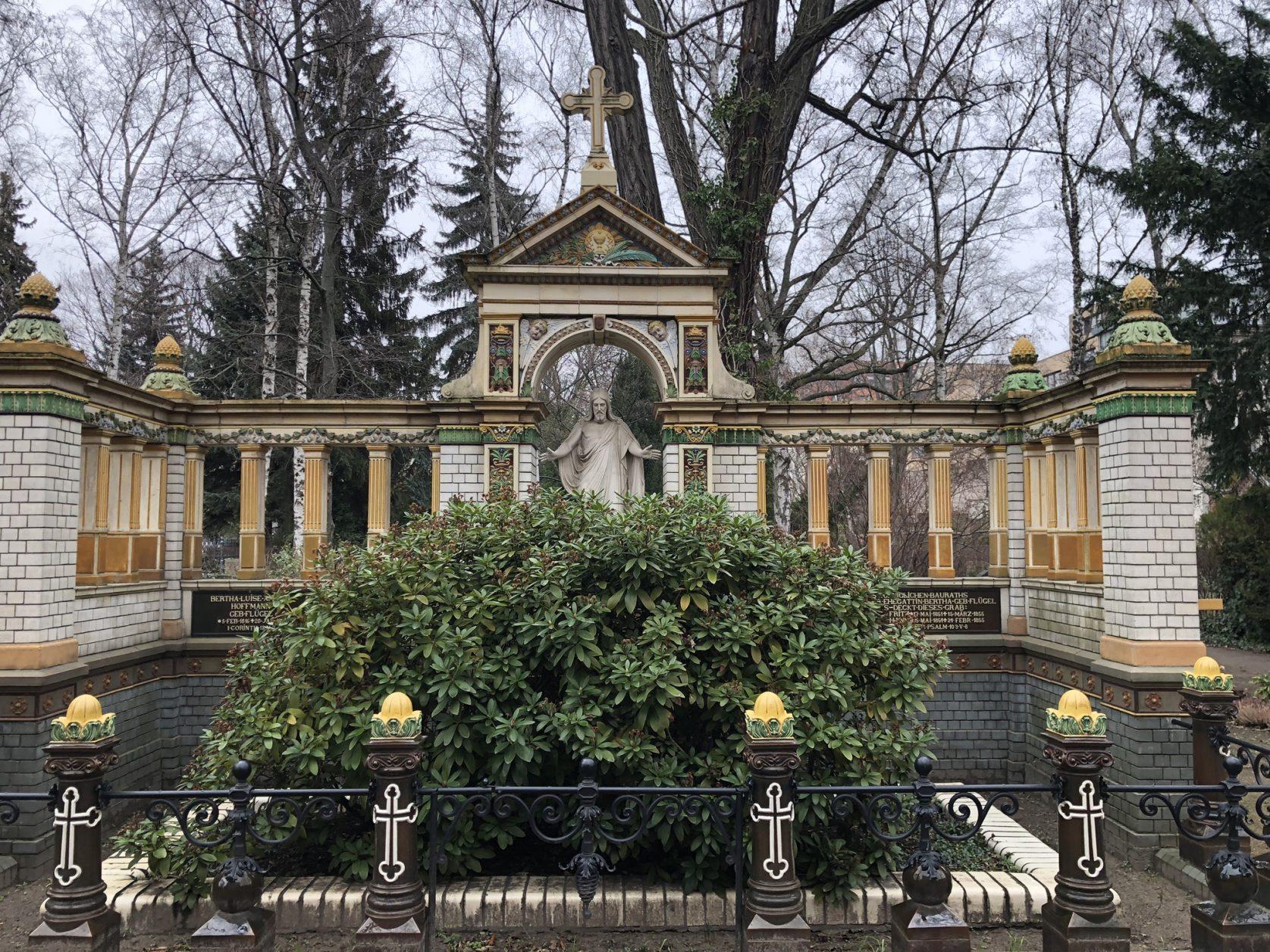 Grabstätte für Hoffmann auf dem Dorotheenstädtischen Friedhof Berlin