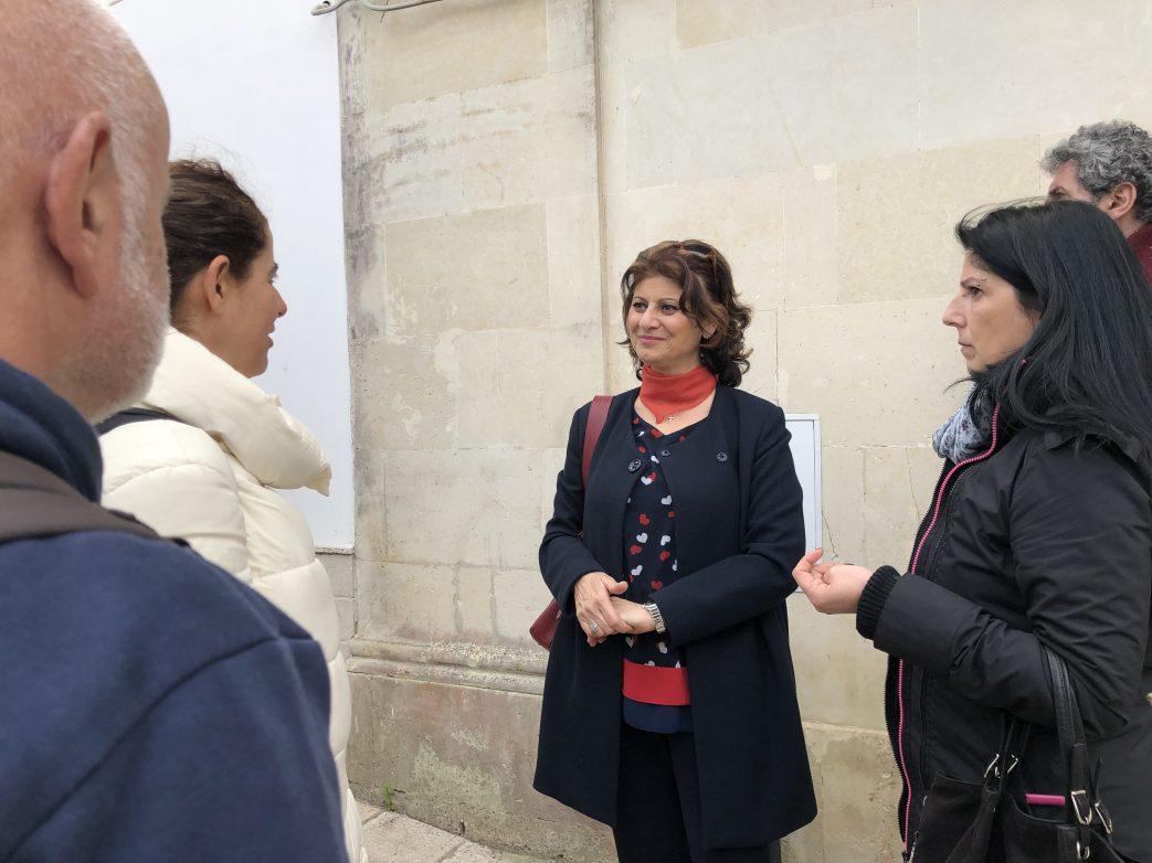 Monika Gravante ist die sympathische Bürgermeisterin von Giurdignano