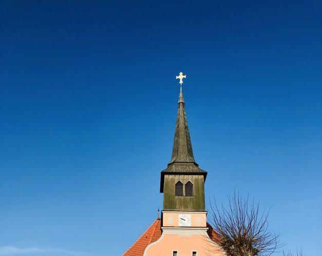 Kirche in Bagow - hoch