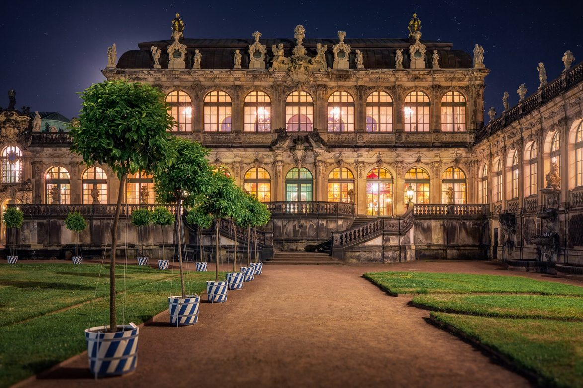 Der Porzellanpavillon im Dresdner Zwinger, Foto: DMG