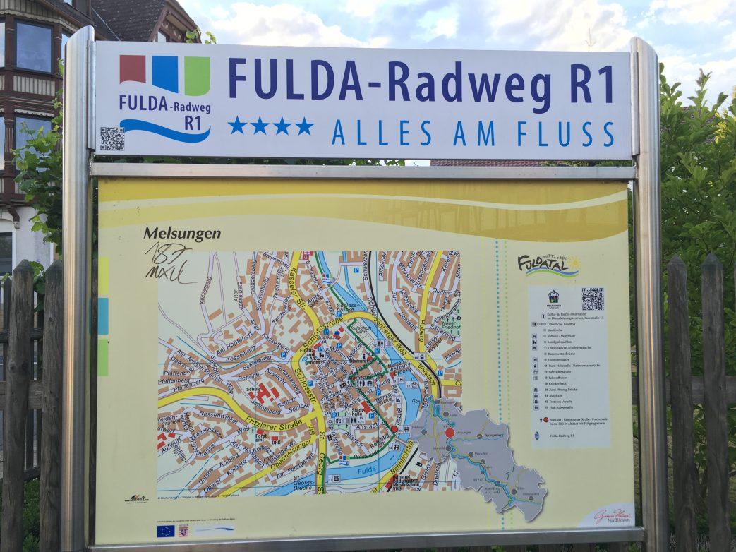 Radweg fulda Grimmheimat
