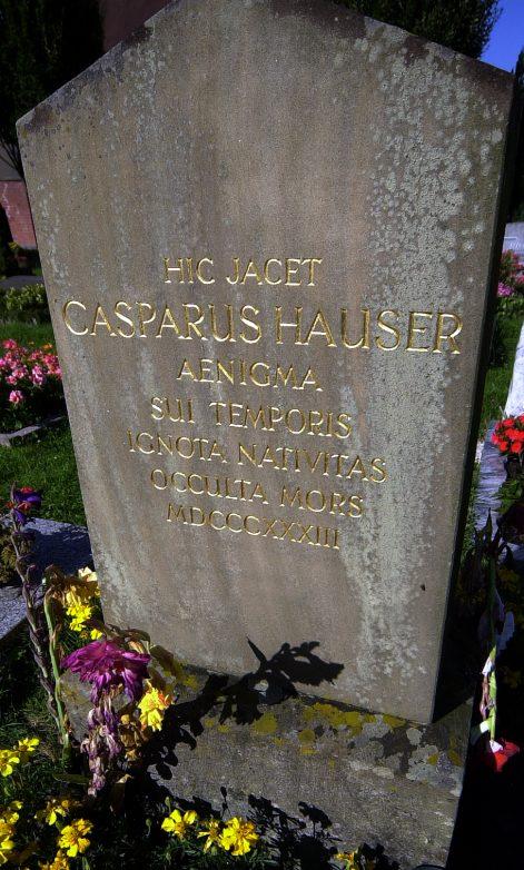 Kaspar Hauser Grab, Foto: Stadt Ansbach