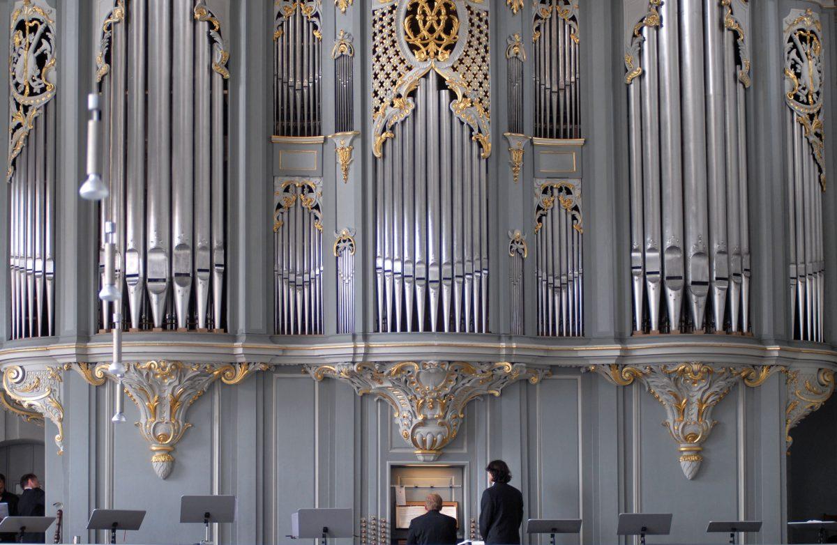 Wiegleb Orgel in St. Gumbertus, Foto: Stadt Snsbach