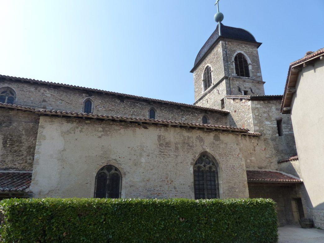 Die Kirche von Perouges