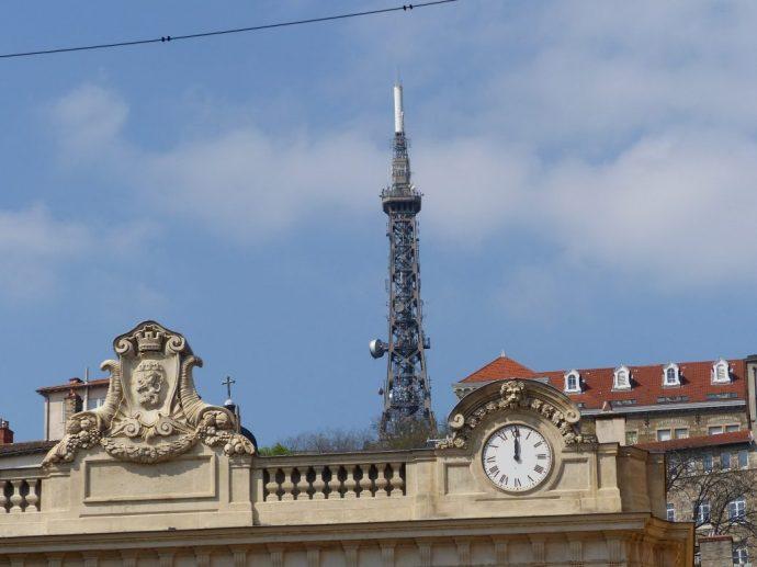 Auch Lyon hat seinen Eiffelturm