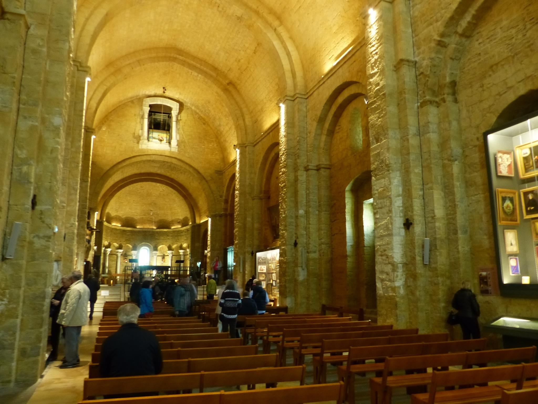 Blick in die Kirche Notre-Dame-de-la-Mer