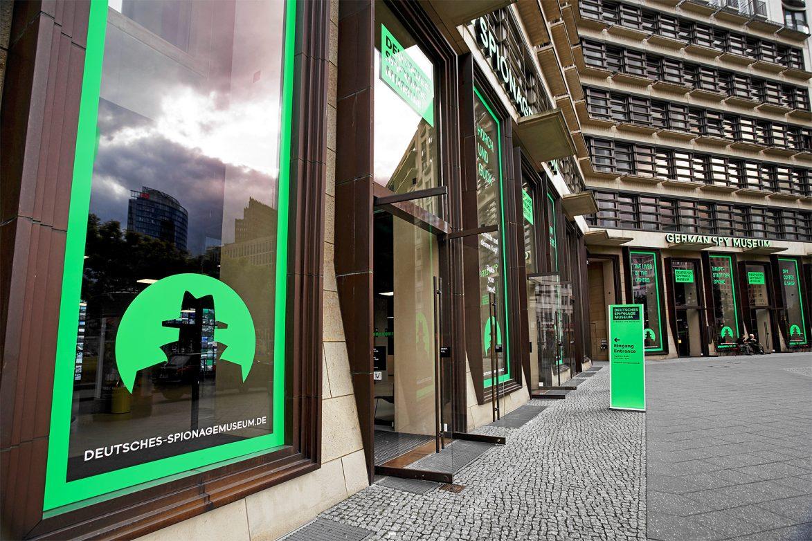 Fassade des Deutschen Spionagemuseums, foto: DSM