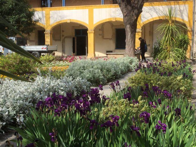 Garten der ehemaligen Heilanstalt
