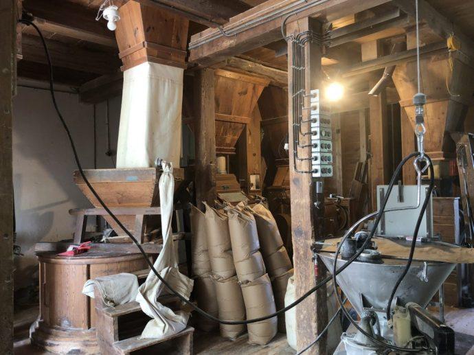 Beeindruckende Mühlenszenerie in der Obermühle Gottsdorf