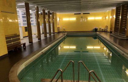Blick in das Schwimmbad im Mutterhaus in Elbingerode Foto: Weirauch