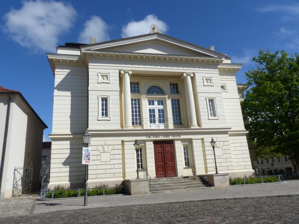 Das Bernburger Theater Foto: Weirauch
