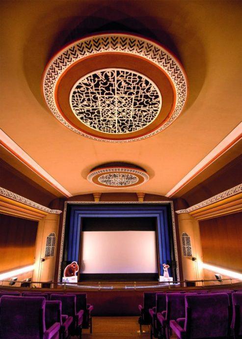 Blick in das art deco Kino von Bernburg, Foto CMYK Ingo Gottlieb, Halle