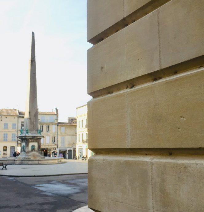 Obelisk auf dem Place de la République