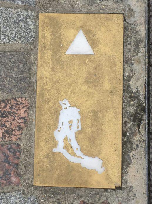 Wegweiser: Rundweg Arles-Vincent van Gogh