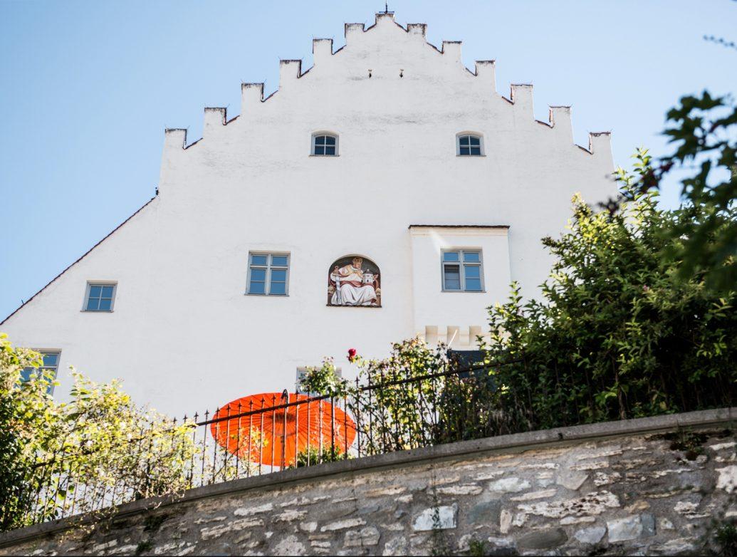 Schlossmuseum Murnau mit Terrasse