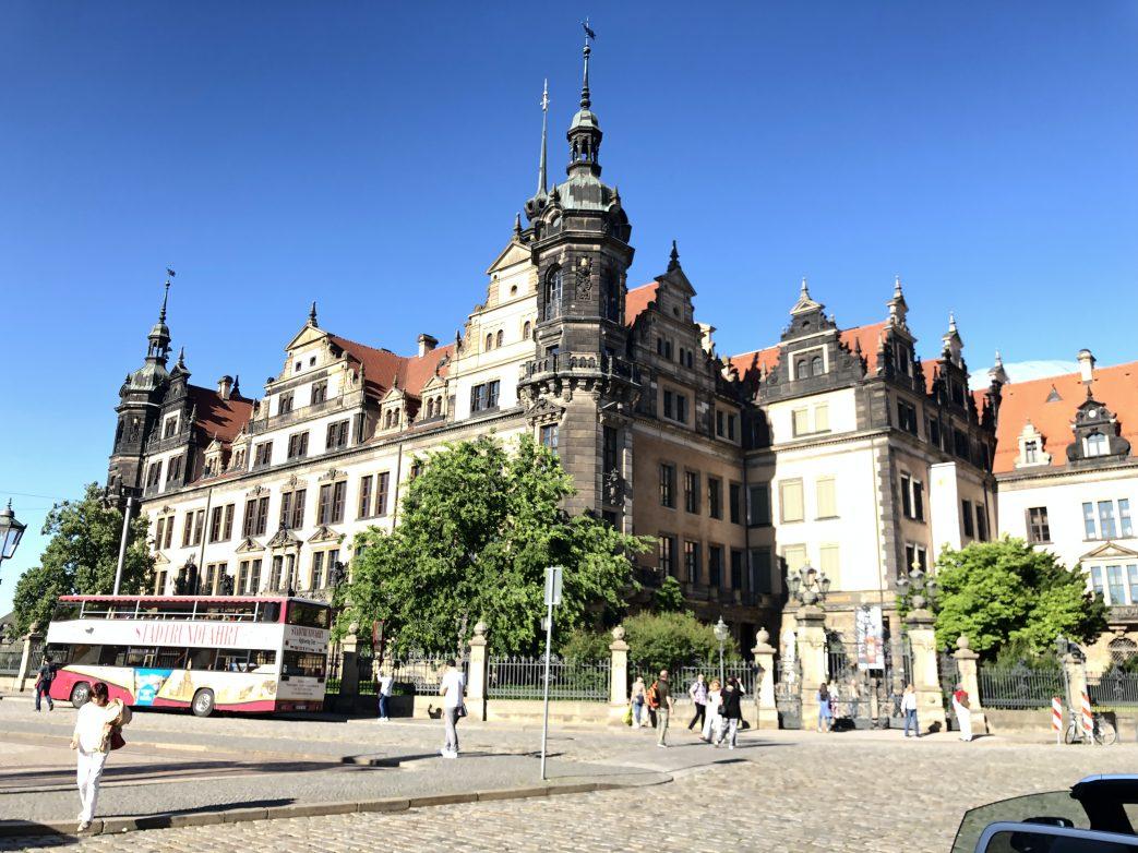 Blick auf das Residenzschloss Dresden Foto: Weirauch