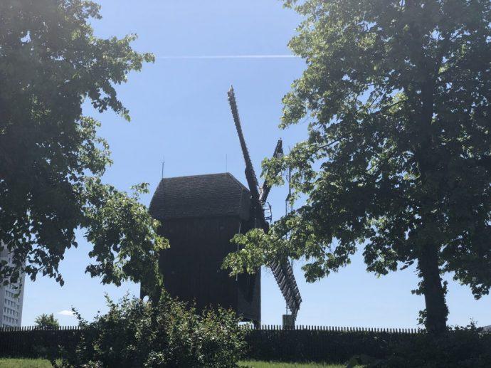 Die Bockwindmühle von Marzahn