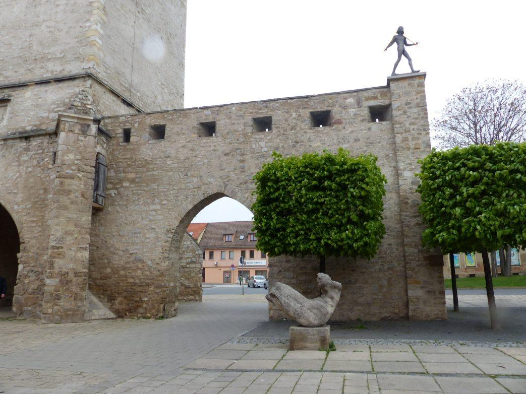 Bronzeplastik für Adam Olearius in Aschersleben