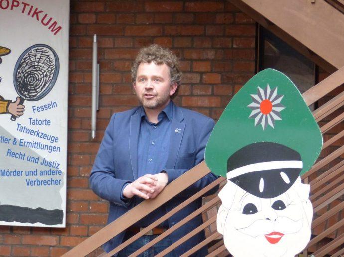 Matthias Poeschel ist Chef der Kulturanstalt