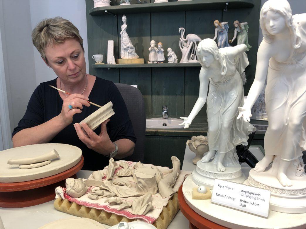 Besuch in der Porzellanmanufaktur Meissen Foto: Weirauch