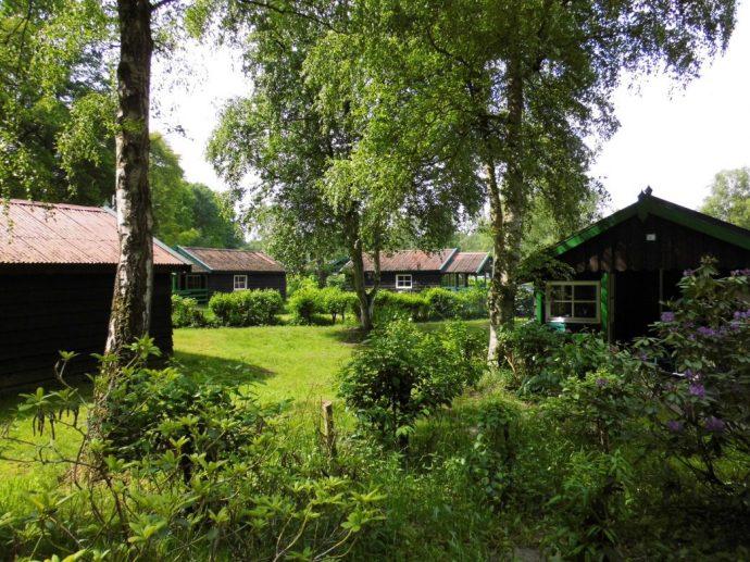 Ferienhaussiedlung im Emsland,Foto: G. Knackfuss