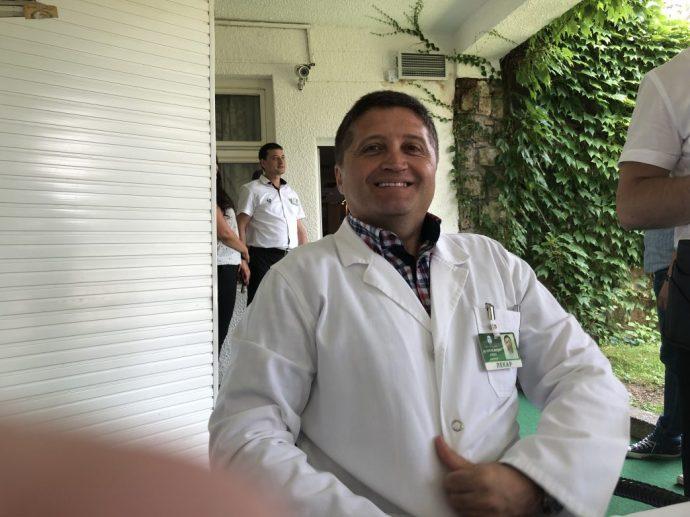 Chefarzt Dr. Aleksandar Jokic gehört zu den führenden Balneologen weltweit