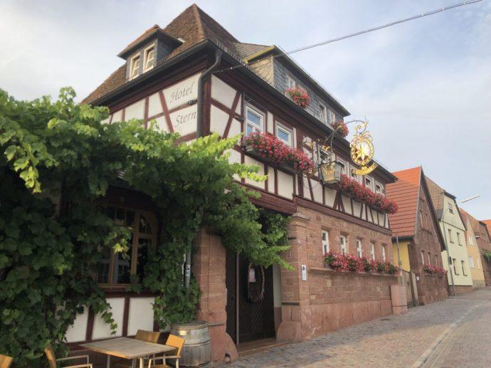 Ein gastfreundliches Haus Hotel Stern in Bürgstadt