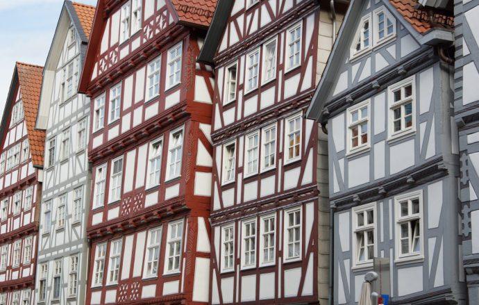 Fachwerkfront in der Fritzlarer Straße, Foto: Stadt Melsungen