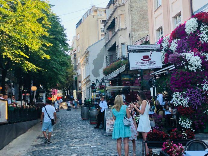 gastronomischer Hotspot: das einstige Künstlerviertel Skadarlija
