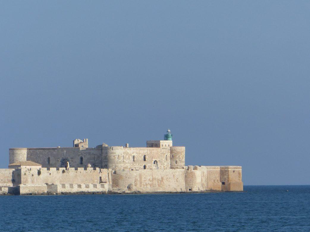 Ortygia bildet das das historische Zentrum der Stadt Syrakus