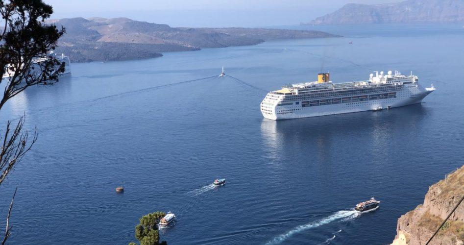 Santorin Griechenland Kreuzfahrt