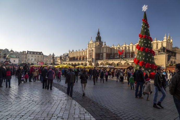 Weihnacht in Kraków (Krakau)