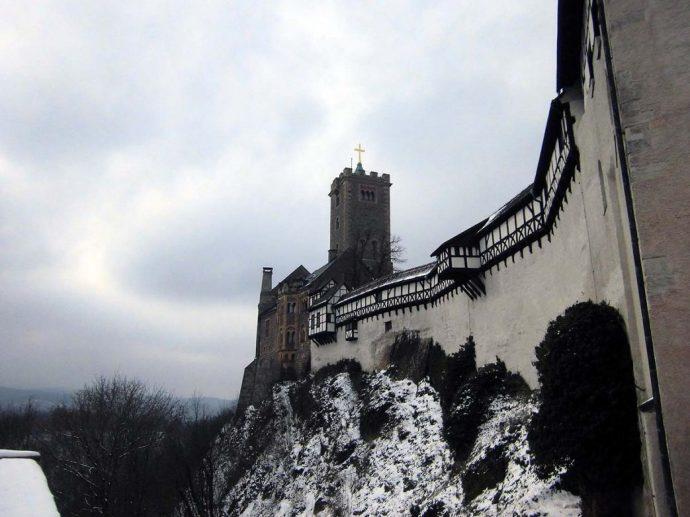 Winter auf der Wartburg