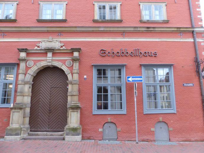 Hinter historischen Mauern befindet sich das Stadtmuseum von Wismar