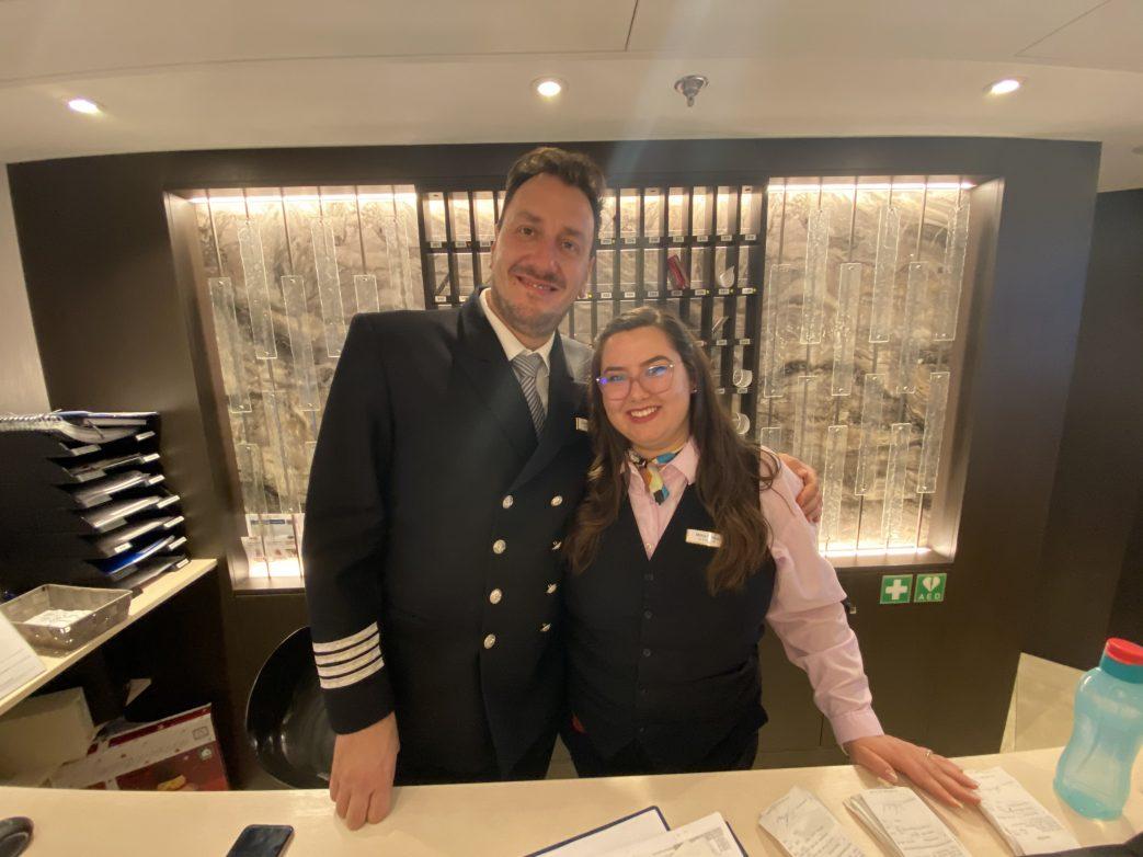 Hotelmanager Heiko Schütze und Milissia Zlateva