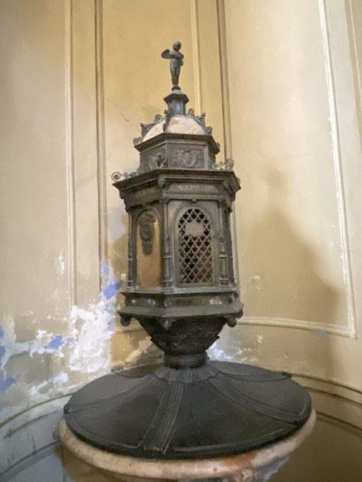 Taufbecken in der Kathedrale Notre-Dame-de-la-Misericorde Foto: Weirauch