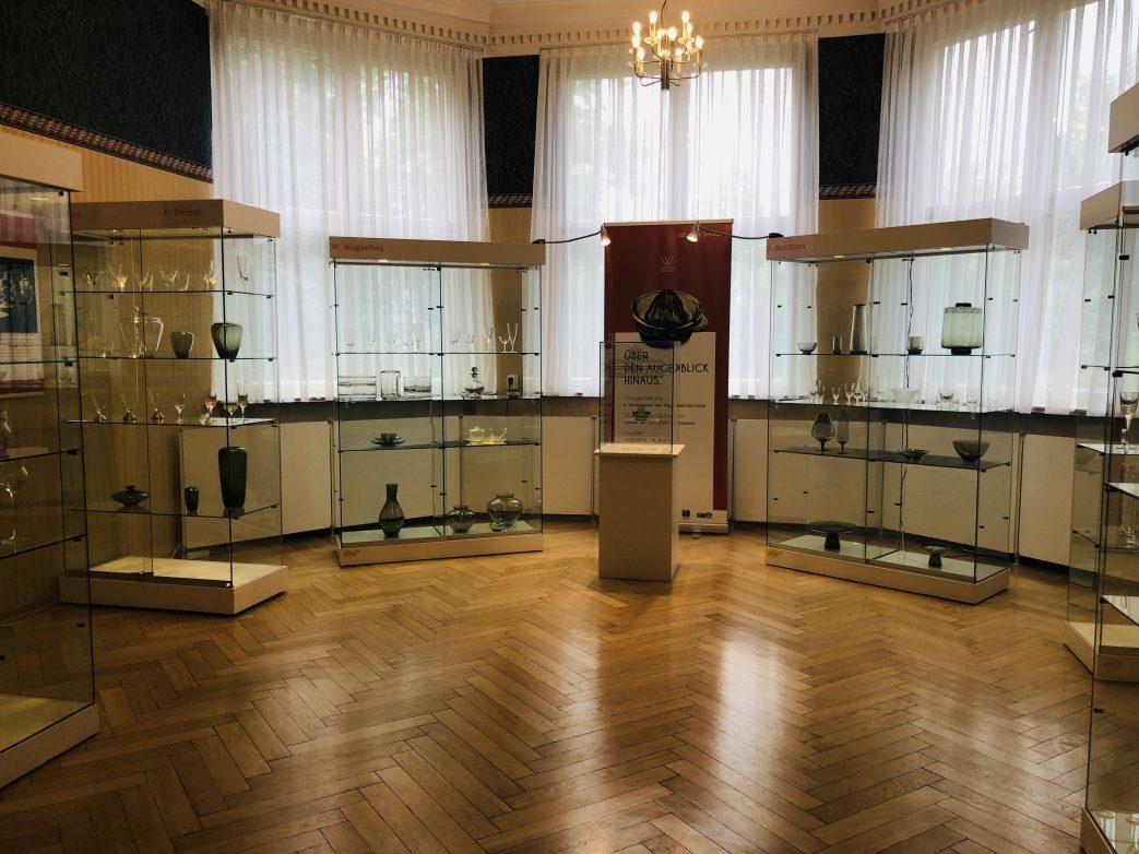 Blick in das Glasmuseum Weiswasser Sachsen