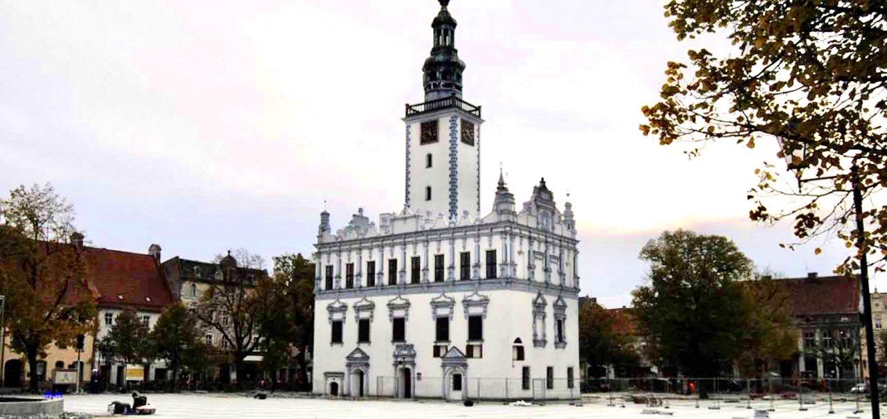 Blick auf das Rathaus von Chelmno/Kulm Foto: Weirauch